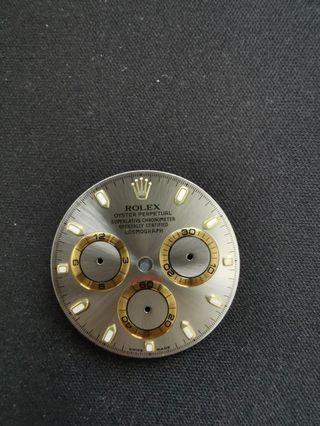 Authentic Rolex watch face