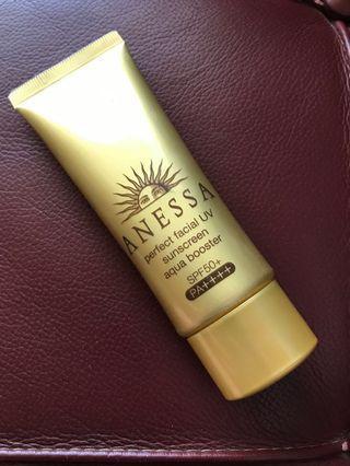 🚚 Anessa Perfect Facial UV sunscreen aqua booster SPF50+ PA++++
