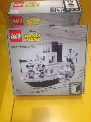 Lego 21317 Disney Steamboat Willie Mickey Minnie 樂高 迪士尼蒸氣船 米奇 米妮