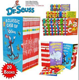 ***free delivery*** BN a classic case of dr Seuss