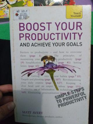 Boost Your Productivity and Achieve Your Goal