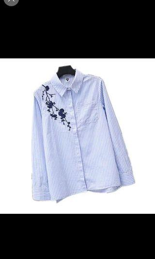 🚚 Embroidary blouse
