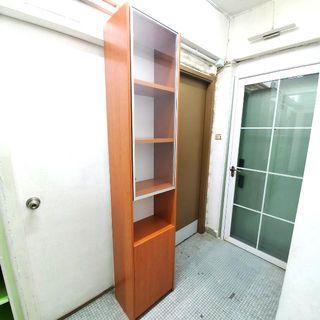 紅蘋果全實木多用途儲物櫃/書櫃 Red Apple Solid Wood Multi-Purpose Storage Cabinet/Book Cabinet