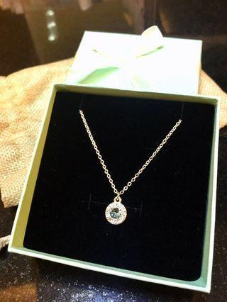 Lovisa Necklace with Sapphire Blue Pendant