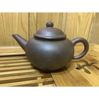 🚚 壺風茶道~A111《宜興紫砂窯變水平壺 》古董、茶壺、普洱茶、紫砂壺