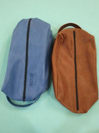 🚚 ECCO leather shoe bag