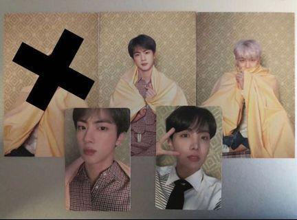 WTT/WTS Map of the Soul Persona Photocard & Postcard