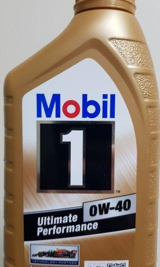 WTS: Brand New, Unopened Mobil 1 0W-40 Engine Oil (1L)
