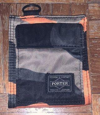 💯Original Porter Rust Camo Wallet
