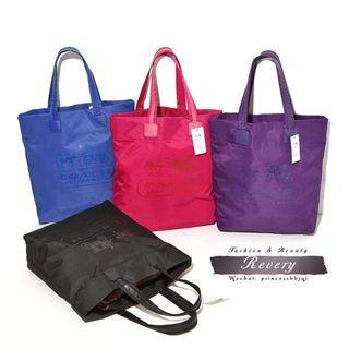 (訂購專櫃贈品) Coach Tote Bag