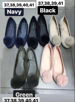 Pom2 flat shoes