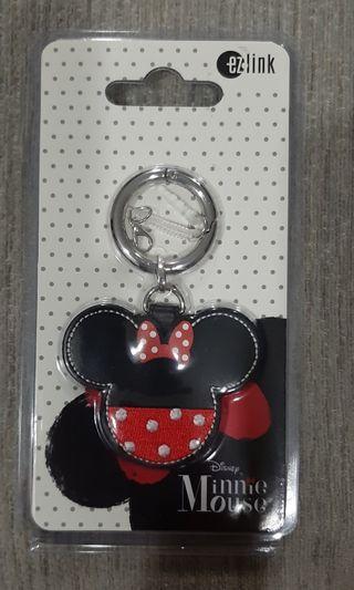 Minnie Mickey Mouse Keychain Ez Link Charm Mrt Ezlink Ez-link
