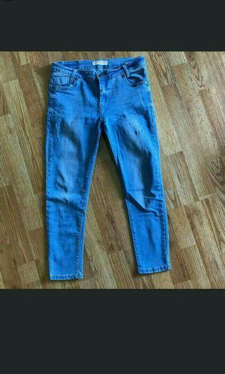 Ramadhan sale!! 2pca only 100k Celana jeans wanita