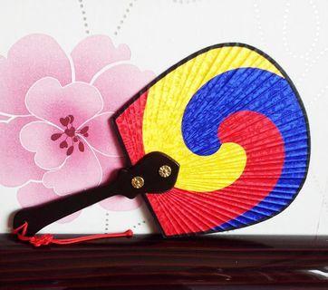 Korean Traditional Fan L size / Korea traditional Fan / Folk Fan / Korea souvenir #MRTJurongEast #MRTRaffles