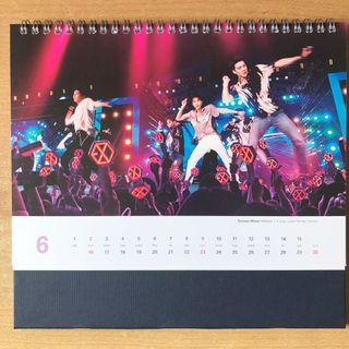 2019 Korea Tourism Board Official Calendar featuring Exo #MRTJurongEast #MRTRaffles