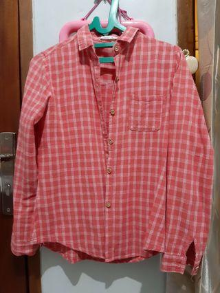 Pink checked