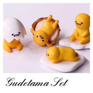 4 Pcs Gudetama Set