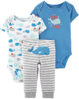 Carter's 18M Baby boy rompers and pants set