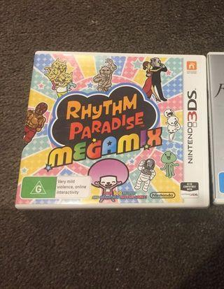 3DS Games Rhythm Paradise Megamix