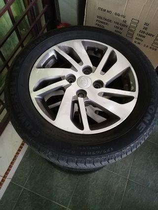 Myvi Original 14 inch wheels (Rim)