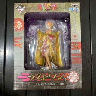 MISB One Piece OP Kuji Bloom Last Prize Nami