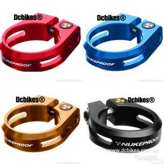 🆕! Nukeproof Nuclear Warhead Seat Post Clamp #Dcbikes                                                   (Size:28.6mm/31.8mm/34.9mm)                                                                                       ✳️ Colours : Black/Red/Blue/Brown ✳️