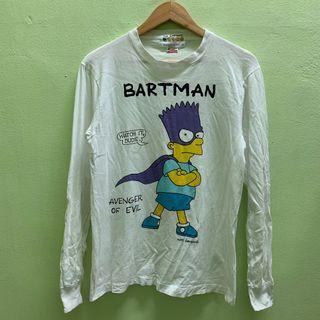 Vintage Bart Simpsons 1991 Longsleeve Shirt