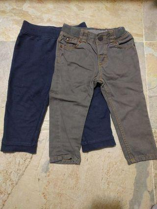 Carter, H&M trousers set