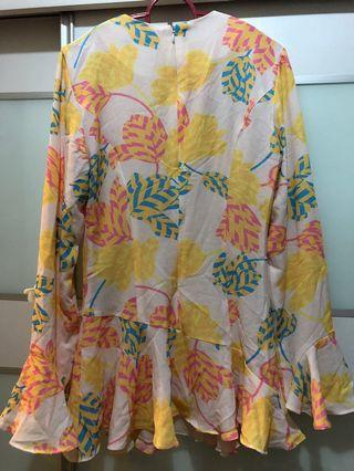 Jovian mandagie top blouse