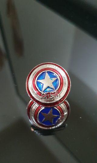 Captain America Shield Avengers Cufflinks