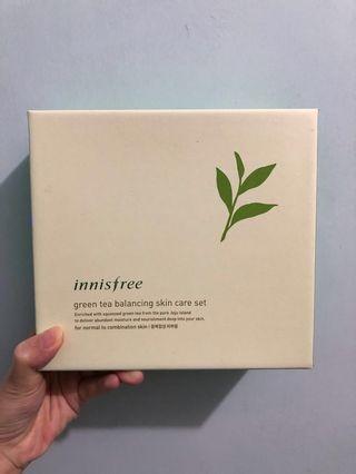 🆕全新🇰🇷專門店購入👍🏻送試用裝❣️innisfree Green tea set