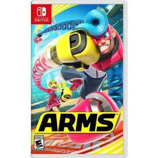 "Nintendo Switch ""Arms"" + DLC included"