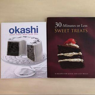 🚚 🍰Okashi Sweet Treats Made With Love + 30 Minutes Or Less Sweet Treats Baking Cake/ Cook/ Cooking/ Recipe Book🥧
