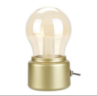 🚚 USB chargeable light bulb