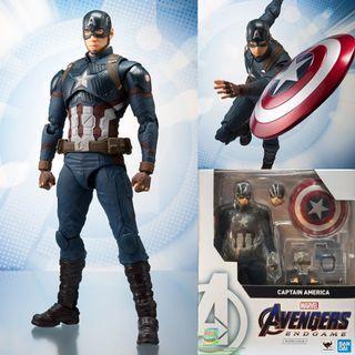 [YH]全新現貨 SHF 美國隊長 Captain Amercia 復仇者聯盟 Avengers 4 End Game EndGame