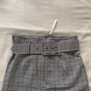 ASOS Belted Gingham Trousers