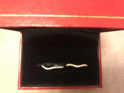 18k 鑽石戒指 (38粒石,約40份)