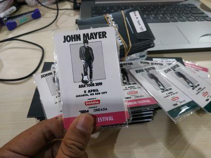 RFID John Mayer Asli Merchandise