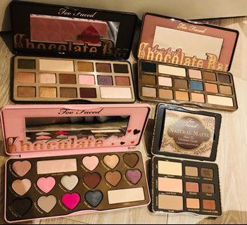 Too faced eyeshadow palettes