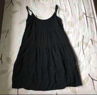 cotton on tiered spag dress