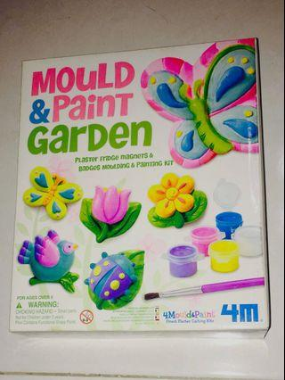 Mould and Paint Garden Kit