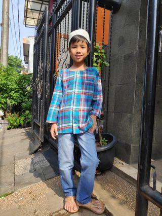 Kemja Koko Kemko Flanel Anak usia 9-13 th