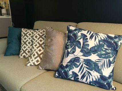 Throw cushions. 15 each