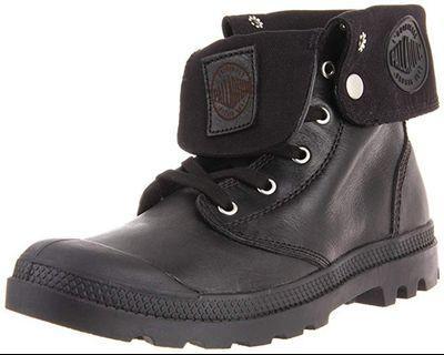 PALLADIUM: Men's Baggy Black Leather Boot