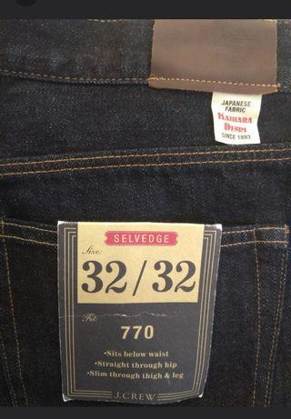 J.crew 770 redline jeans, not lvc levis gap uniqlo