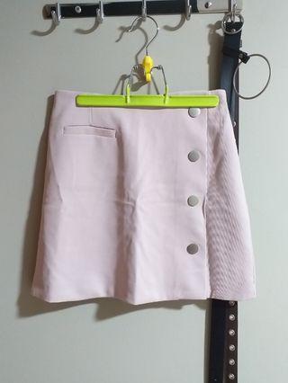 🚚 pink a line skirt