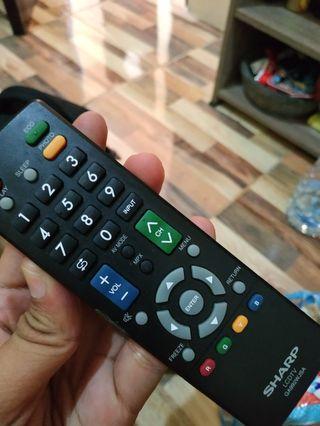 Remote TV sharp Asli bonus batere