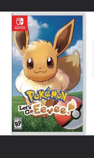 🚚 Pokemon let's go eevee