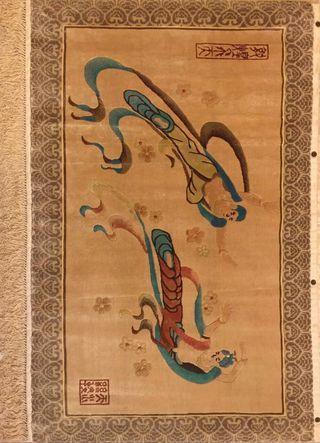Wall Tianshui Silk Carpet (wall display)