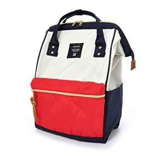 Anello Bag school Backpack red and blue